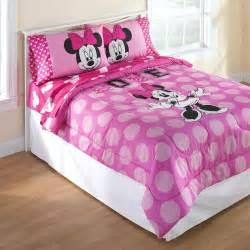 disney minnie mouse reversible comforter set home bed bath bedding comforters