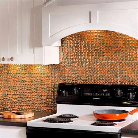 orange kitchen tiles fasade 24 in x 18 in terrain pvc decorative tile 1220