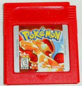 Pokemon Red Version Nintendo Game Boy Gameboy Cartridge ...