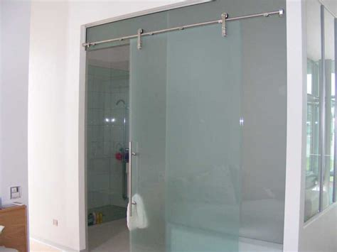 images of frameless sliding glass door woonv