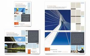 civil engineers flyer ad template design With engineering brochure templates free download