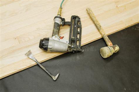 Hardwood Flooring Tools Stock Image Image  Wood Planks