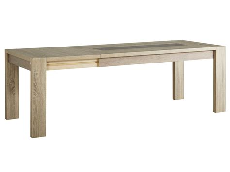 table a manger rectangulaire avec rallonge table 224 manger rectangulaire bois avec allonge l180 240xp90xh79cm oak