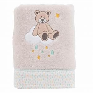 Serviette Carré Blanc : serviette de toilette gabin lin carre blanc ~ Teatrodelosmanantiales.com Idées de Décoration
