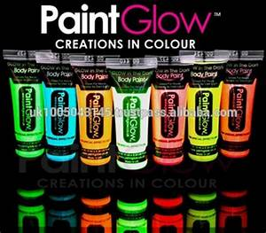 Glow In The Dark Body Paints 6 Neon Colours And 1