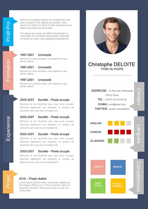 Cv Professionnel Exemple by Cv Curriculum Vitae Exemple Cv Professionnel Exemple