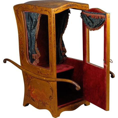 chaise a porteur chaise à porteur sedan chair for fashion dolls from