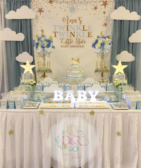 twinkle baby shower ideas best 25 baptism table decorations ideas on