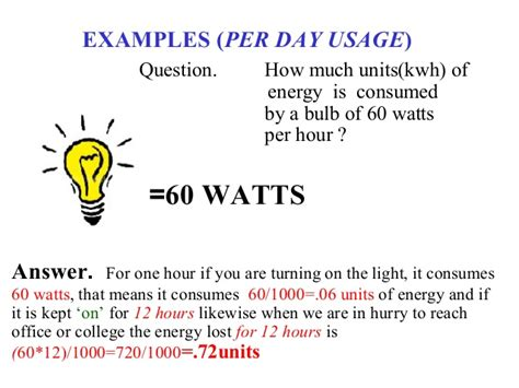 how much energy does a fan use power consumption of household equipments in india