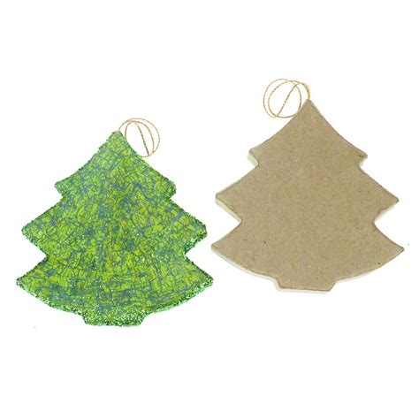 paper mache christmas tree decopatch and paper mache