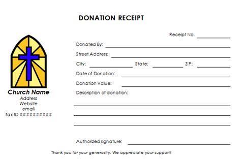 church donation receipt letter template church donation receipt template