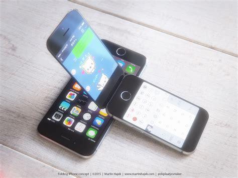 concept toont iphone als klassieke flip phone