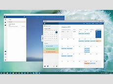 Windows 10 le nuove app Mail e Calendario Webnews