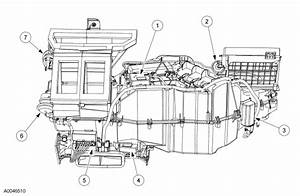 Ac Evaporator Heater Components Parts Diagram Car Pictures