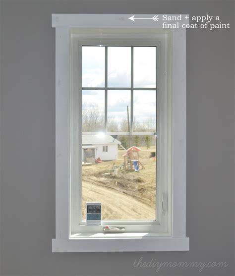 Window Sill Trim Interior by Diy Modern Easy Craftsman Window Trim Window Trim