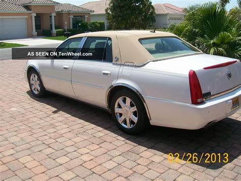 2006 Cadillac Dts Base Sedan 4 Door 4 6l Factory Gps System
