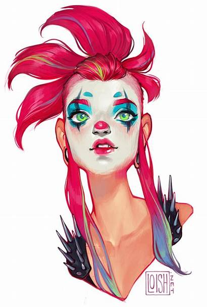 Loish Whimsy Deviantart Painting Digital Character Van