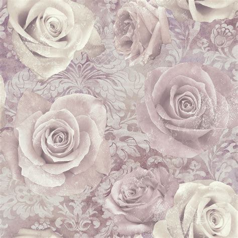 unlimited reverie mauve purple wallpaper departments