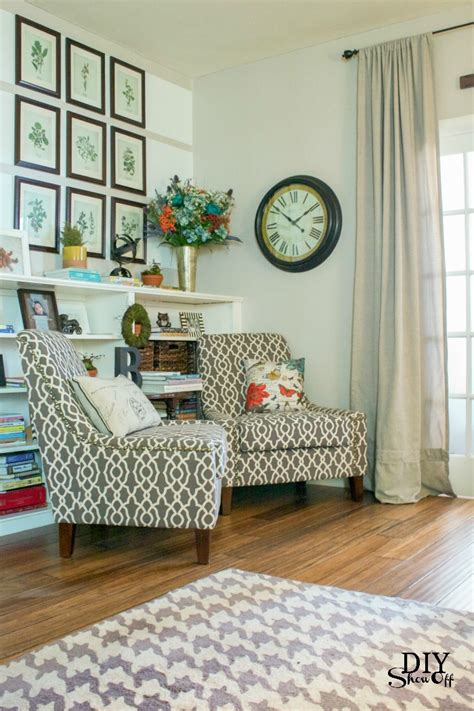 Creating A Reading Nook In Living Room  Living Room