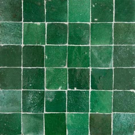 green tile green moroccan tile
