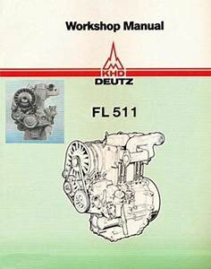 Deutz F1l 511 F2l 511 Service Workshop Repair Manual Engine Motor Repair Cd