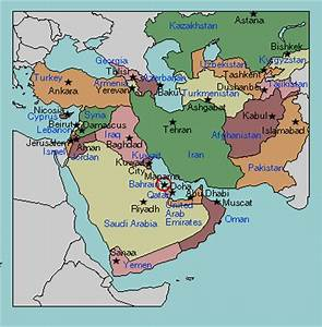 Test your geography knowledge - Middle East capitals ...