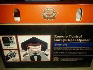Remote Control Garage Door Opener Kit-91558-01a