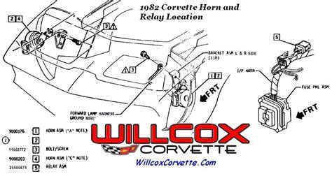 Corvette Horn Relay Location Wiring Diagram