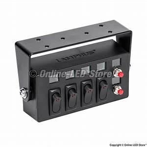 Lamphus Swbx42  4  25a On  Off Rocker Switches  U0026  2