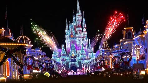 Mickey's Very Merry Christmas Party At The Magic Kingdom Led Bathroom Mirrors Battery Powered Custom Made Sinks P Trap Sink Wall Cabinets With Mirror Real Wood Michigan Console Table Backlit Vanity