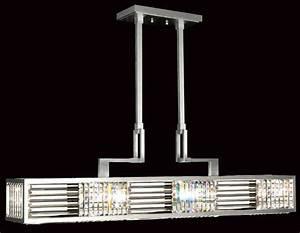 Fine art lamps crystal enchantment long rectangular