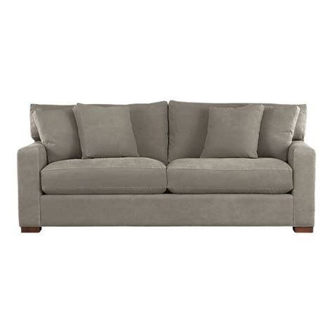 pennie sofa pull out sofa furniture and crate and barrel