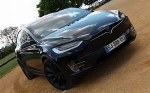 Futur Auto : essai auto tesla model x p100d bienvenue dans le futur luxe et concept ~ Gottalentnigeria.com Avis de Voitures