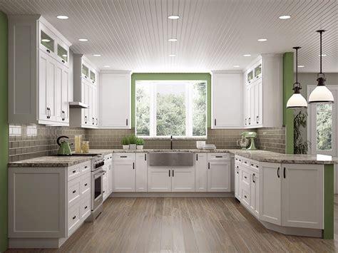 white shaker cabinets  hottest kitchen design trend