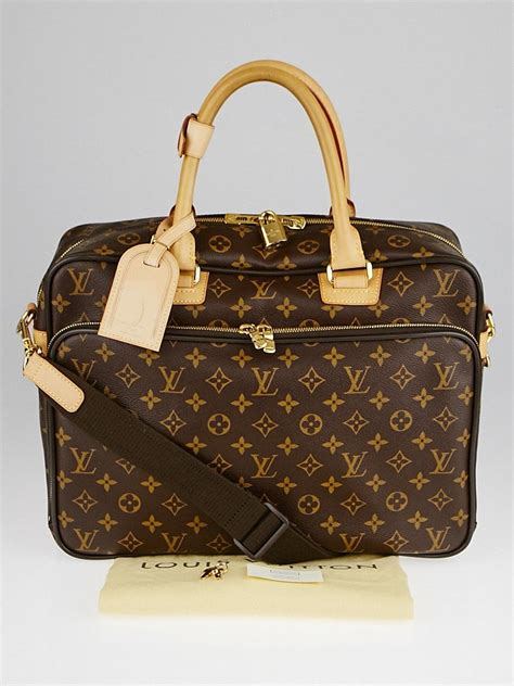 louis vuitton monogram canvas icare computer bag yoogis