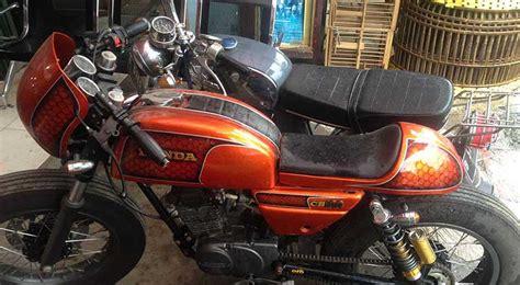 Bengkel Modif Byson Di Surabaya by Bengkel Modifikasi Motor Cafe Racer Surabaya