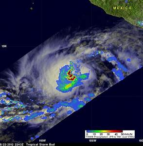 NASA - Hurricane Season 2012: Tropical Storm Bud (Eastern ...