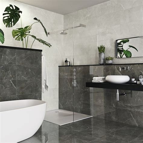 grey marble effect wall tiles bathroom tiles direct
