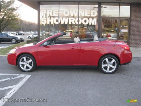 2007 Pontiac G6 GT Convertible in Crimson Red photo #2