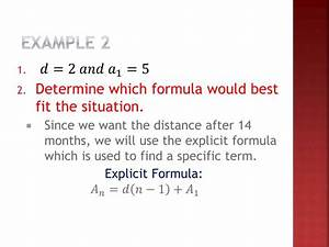 PPT - Lesson 3.13 Applications of Arithmetic Sequences ...