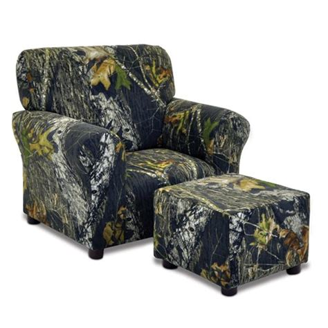 Camo Ottoman by Mossy Oak Camouflage Club Chair And Ottoman Set