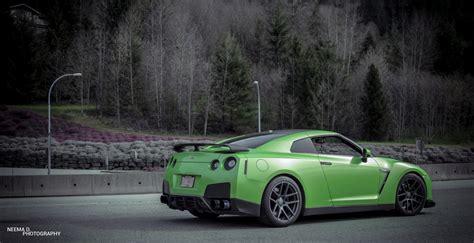 Nissan Gtr Wallpaper Green by Green Nissan Gt R Velgen Wheels