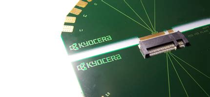 card edge connectors connectors products lines electronic components devices kyocera