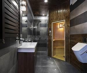 Sauna Les Bains Lille : salle de bains avec le sauna photo stock image 40015370 ~ Dailycaller-alerts.com Idées de Décoration