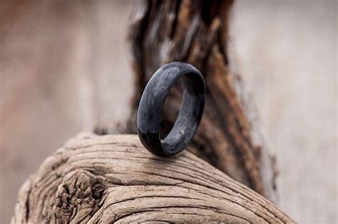 forged carbon fiber wedding ring mens gear