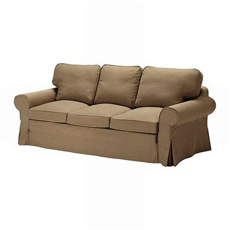 ektorp sofa bed slipcover ikea ektorp 3 seat sofa slipcover cover idemo light brown
