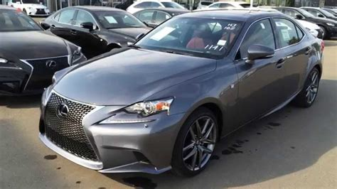 lexus gray new grey on rioja red 2015 lexus is 250 awd f sport series