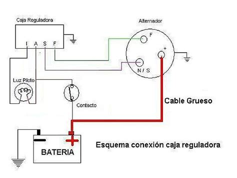 diagrama de alternador ford