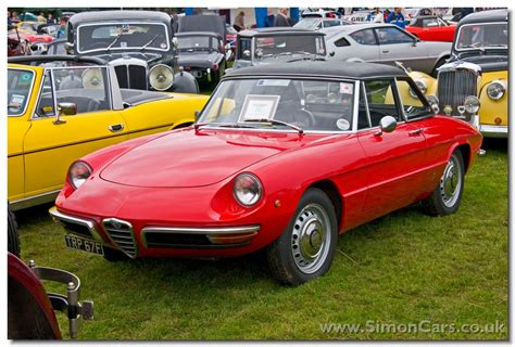 simon cars alfa romeo duetto