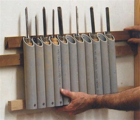 idea  organizing woodturning tools woodshop